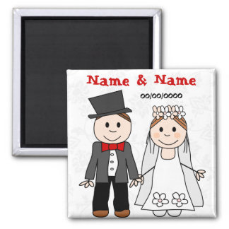 save the date,wedding favors 2 inch square magnet