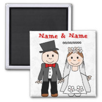save the date,wedding favors magnet