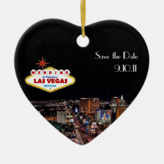 Save the Date Wedding in Las Vegas Ornament