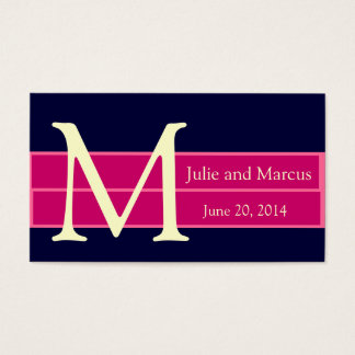 Save the Date Wedding Invitation Insert Cards