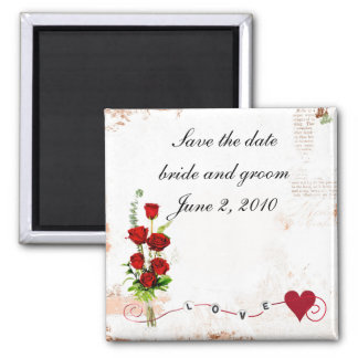save the date wedding magnet refrigerator magnets
