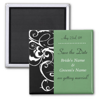 Save the Date - Wedding Magnet