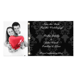 Save the Date Wedding Photo Greeting Card