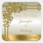 Save The Date Wedding Sticker