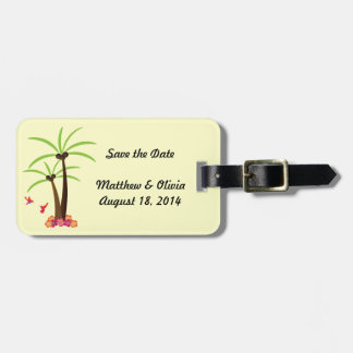 Save the Date Wedding Tags