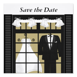 Save the Date Wedding/Wedding Invitation/ Card