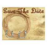 Save the Date Western Wedding invitation