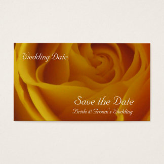 Save the Date Yellow Rose Cards