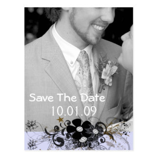 Save The Date Your Photo - Customized Post Card