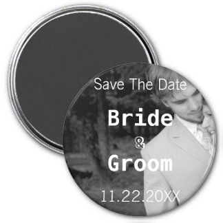 Save The Date-Your Photo Magnet