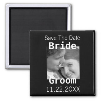 Save The Date Your Photo Magnet -