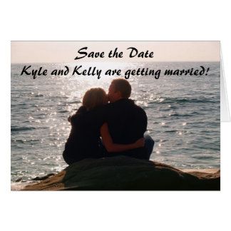 Save the DateKyle and Kelly are getti Cards