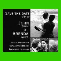 Save the Dates Customizable Wedding Invitations