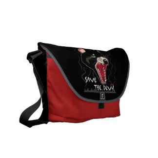Save The Devil Messenger Bag