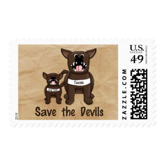 Save the Devils Postage Stamps
