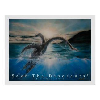 Save The Dinosaurs Poster