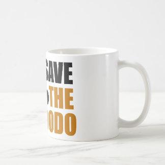 Save The Dodo Bird! Classic White Coffee Mug