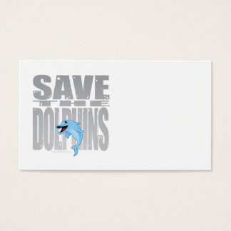 Save the Dolphins Business Card