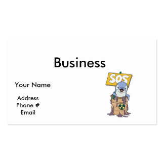 save the dolphins business card templates