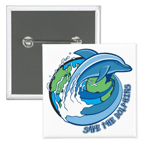 Save the Dolphins Pins