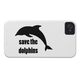 Save the Dolphins iPhone 4 Cases