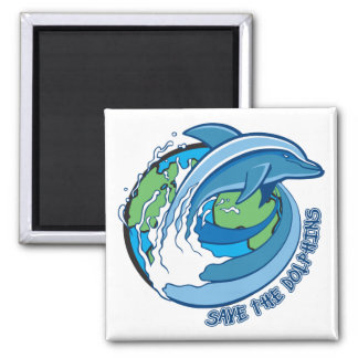 Save the Dolphins Fridge Magnets