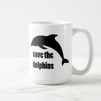 Save the Dolphins Coffee Mug