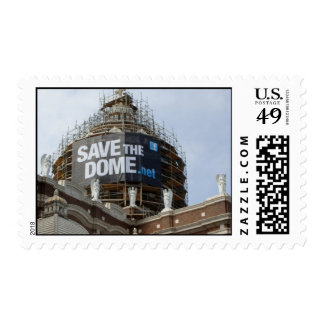 Save The Dome Postage