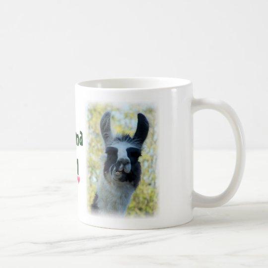 Save the Drama for Yo Llama Coffee Mug
