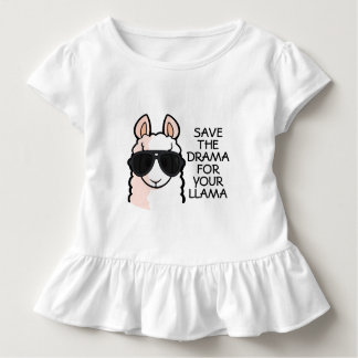 Save the Drama for Your Llama Toddler T-shirt
