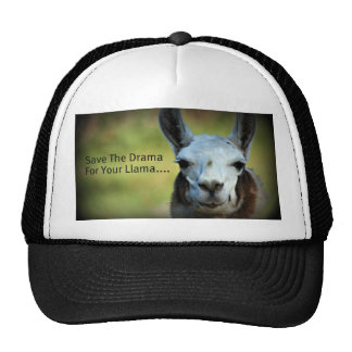 Save The Drama For Your Llama Trucker Hat