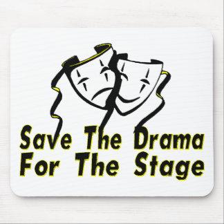 Save The Drama Mouse Mats