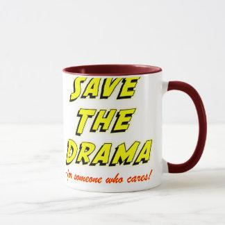 Save the Drama Snappy Saying Mug