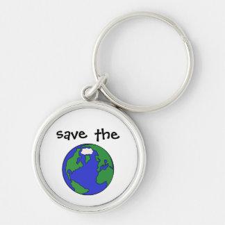 Save the Earth Keychain