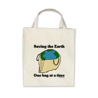 Save the Earth Organic Tote Bag