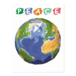 Save The Earth Planet Products & Designs! Postcard