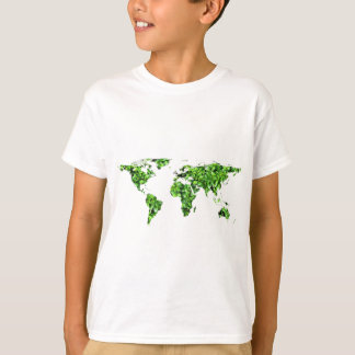 Save the Earth -  World of Leaves T-Shirt