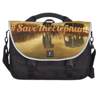 Save The Elephants Design Bags For Laptop
