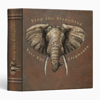 Save the Elephants Graphic Binder