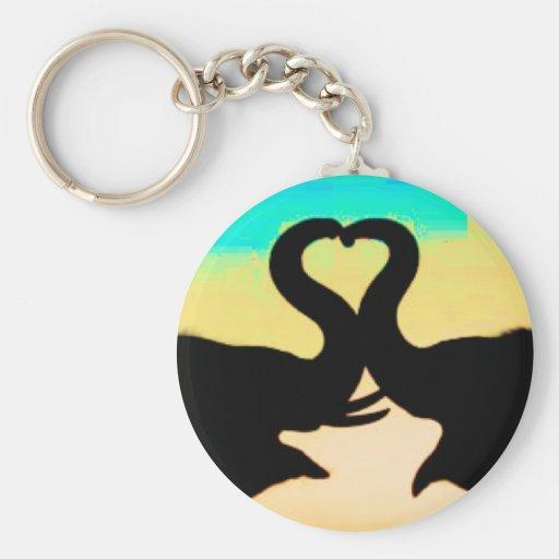 Save the elephants heart trunks keychains zazzle for Elephant heart trunk