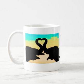 save the elephants heart trunks mug