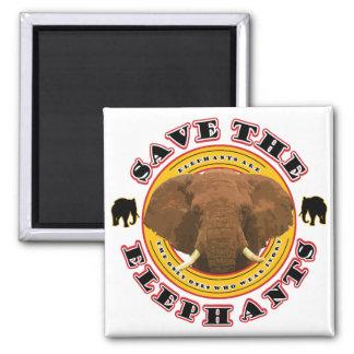 Save the Elephants Magnet