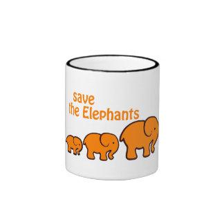 """""""Save the Elephants"""" Mug"""