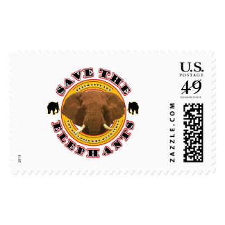 Save The Elephants Postage