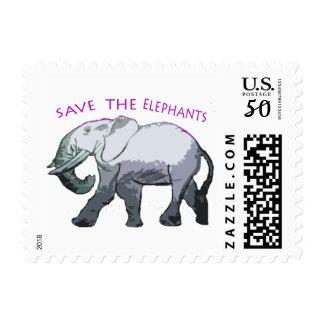 Save the Elephants Postage
