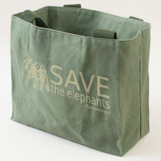 Save the Elephants Tote