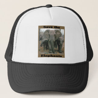Save the Elephants Trucker Hat