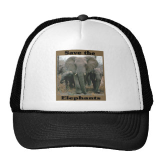 Save the Elephants Trucker Hat