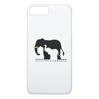 Save the Elephants (white) iPhone 8 Plus/7 Plus Case