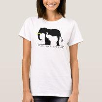 Save the Elephants (white) T-Shirt